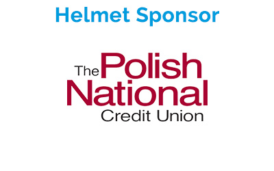 Helmet Sponsor: Polish National Credit Union